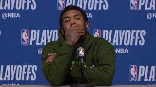 Kyrie Irving Postgame Interview - Game 5 | Celtics vs Bucks | 2019 NBA Playoffs