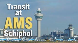 Transit at Amsterdam Schiphol Airport | Gates C to gates F