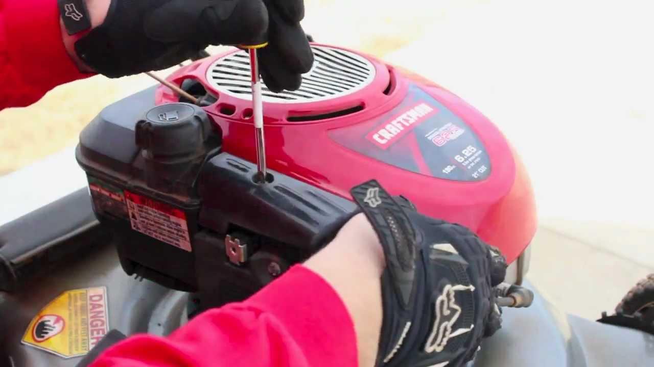 Repair Briggs Amp Stratton Lawnmower Tune Up Carburetor