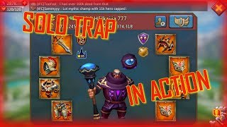 Lords Mobile tFC: Solo Trap in Action