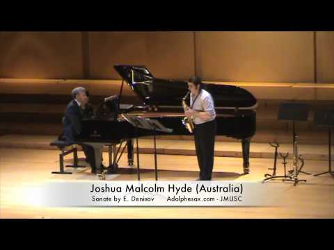 3rd JMLISC Joshua Malcolm Hyde (Australia) Sonate by E. Denisov