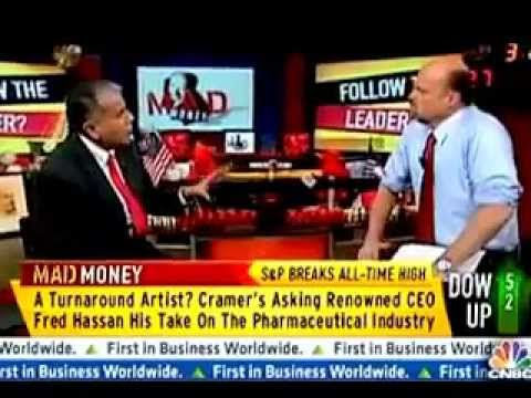 Mad Money - Fred Hassan re the Future of Pharma & David Epstein ...