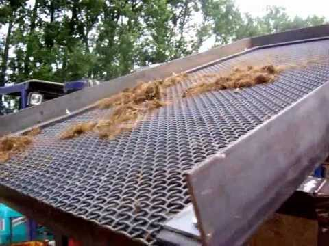 how to make a large dirt sifter