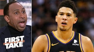 Devin Booker should want out from the Suns after another losing season - Stephen A. | First Take