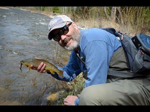 Orvis Guide Rendezvous OGR15 fishing Rock Creek, Montana