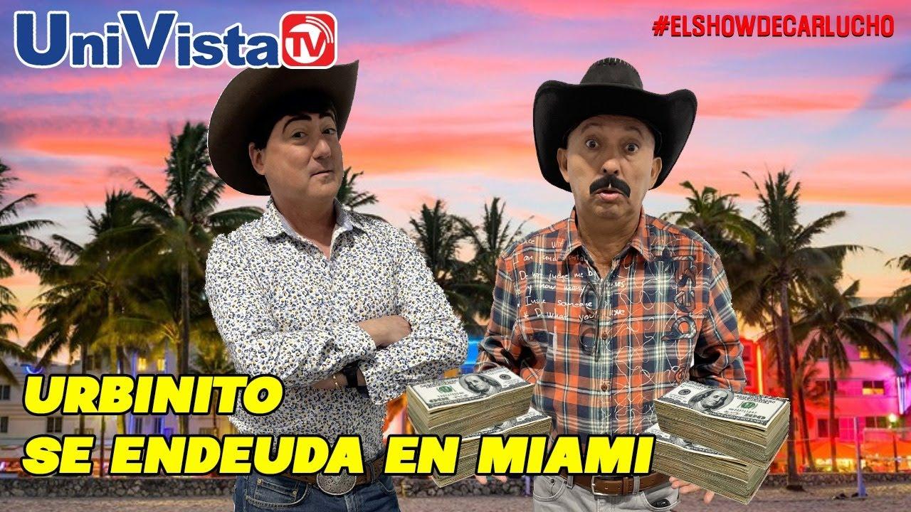 Urbinito endeudado en Miami pide dinero al primo