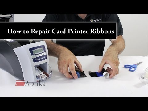 How to Repair a Broken ID Card Printer Ribbon