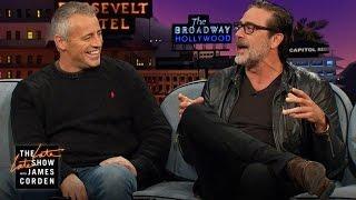 Jeffrey Dean Morgan & Matt LeBlanc Can't Control Their Potty Mouths
