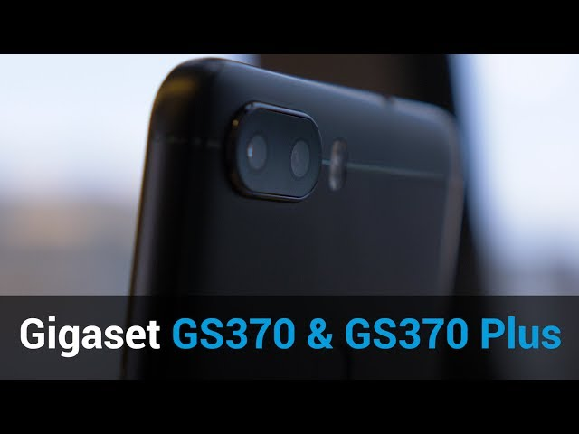 Belsimpel-productvideo voor de Gigaset GS370 Black
