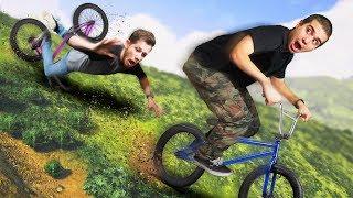 DANGEROUS BMX Race Down A Mountain! | GTA5