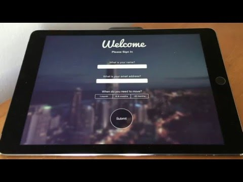 Open House iPad App for Real Estate Agents