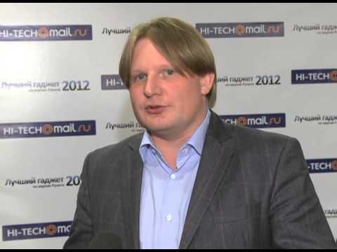 """Телеканал """"24 Техно"""" - репортаж с церемонии """"Лучший гаджет 2012 по версии Рунета"""""""