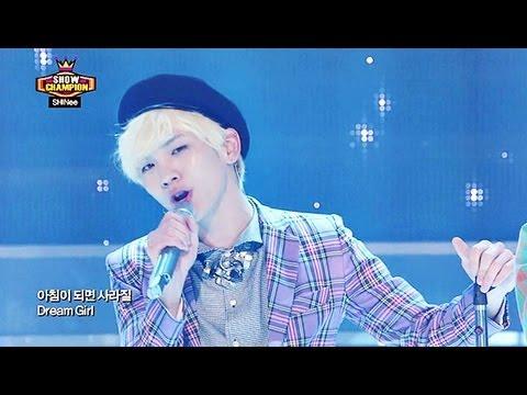 SHINee - Dream Girl, 샤이니 - 드림 걸, Show champion 20130327