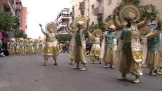 Los Lingotes en el desfile de 2017