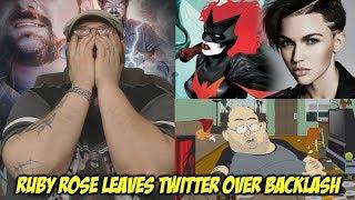 Ruby Rose Leaves Twitter over Batwoman Backlash!!!