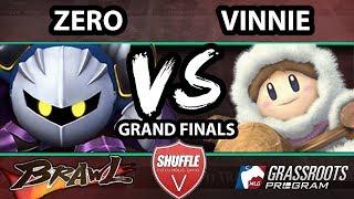 Shuffle V - Vinnie (Ice Climbers) Vs. ZeRo (Meta Knight) - Grand Finals - SSBB