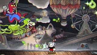 Cuphead: Beppi the Clown Boss Fight #8
