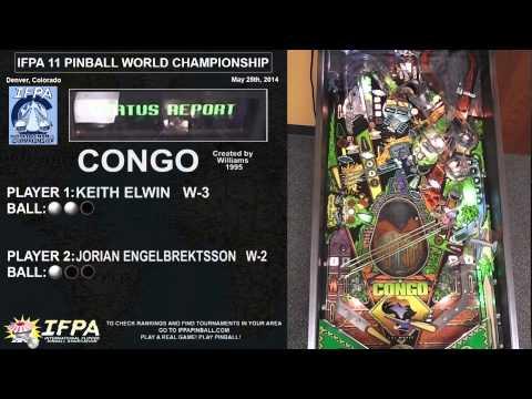 Flipper sportivo: la finale Mondiale 2014 tra Keith Elwin (USA) e Jorian Engelbrektsson (SWE)