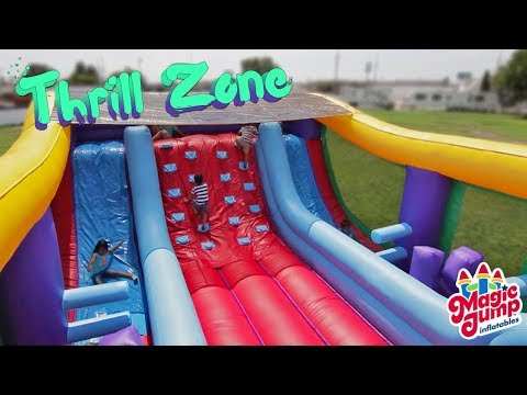 Thrill Zone - Inflatable Combo | Magic Jump, Inc.