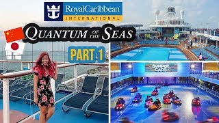/royal caribbean quantum of the seas china japan part 1 travel vlog