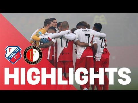 HIGHLIGHTS   FC Utrecht - Feyenoord
