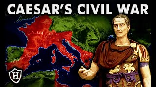 Caesar's Civil War ⚔️ (ALL PARTS 1 - 5) ⚔️  FULL DOCUMENTARY