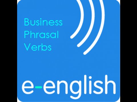 Learn English with e English  Phrasal verbs