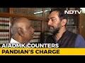 AIADMK leaders spar over Sasikala on air; Saraswati slams phone
