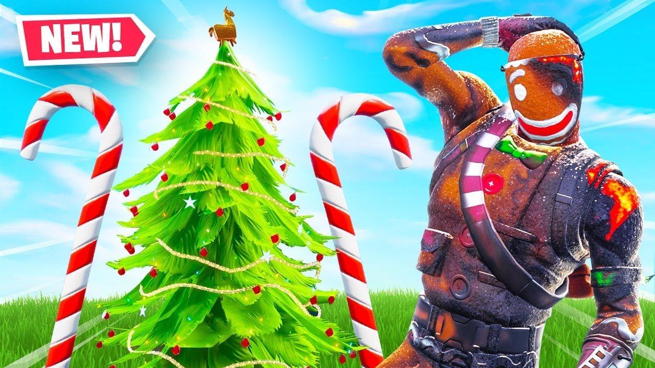 Fortnite Christmas Tree Locations.Fortnite Christmas Update