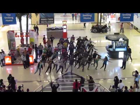 IIM Indore Mridang 2013 Flash mob