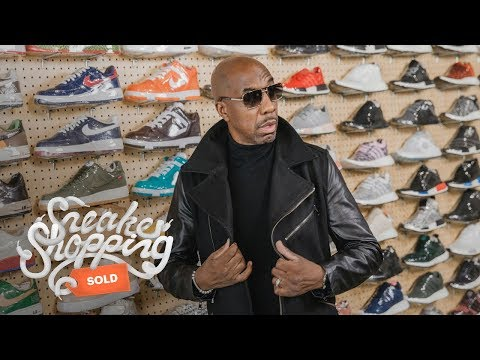 JB Smoove Goes Sneaker Shopping With Complex