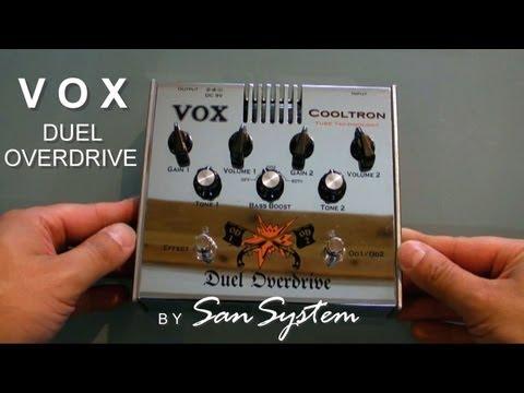 Vox Duel Overdrive - Tube Overdive