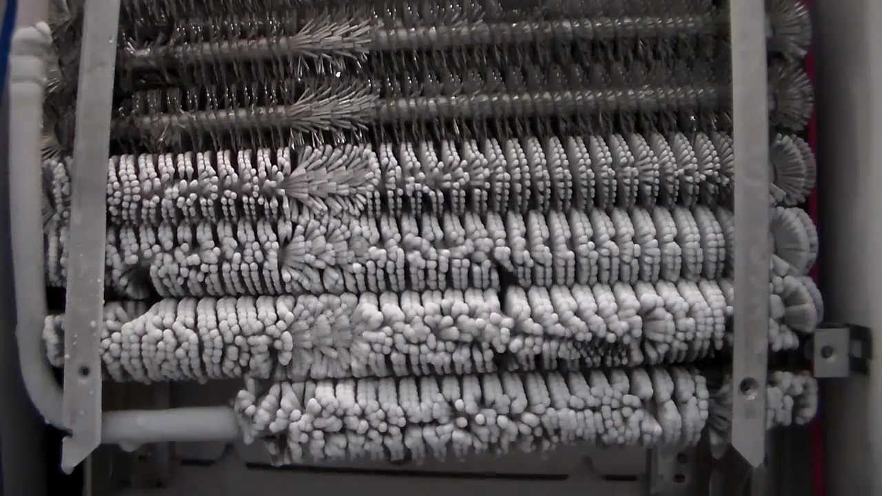 Freezer Coils Freezing Solid Time Elapsed Youtube