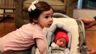 Luca Meet's His Big Sister