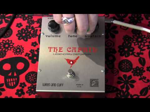 Wren and Cuff The Caprid Small Foot Distortion Pedal