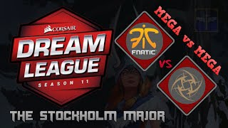 MEGA vs MEGA Fnatic vs NIP / Game 1 / DreamLeague Season 11 Stockholm Major  / Dota 2 Live