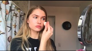 "EASY ""NO MAKEUP"" MAKEUP TUTORIAL USING DRUGSTORE PRODUCTS"