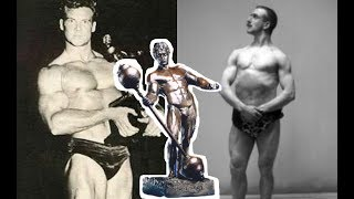 Who was the first bodybuilder to actually win a Sandow?
