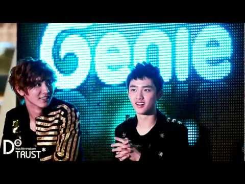 120602 Genie AR show EXO-K D.O. Wow! (⊙o⊙) [DO TRUST]