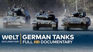 GERMAN TANKS - Technology, Development & History   Full Documentary