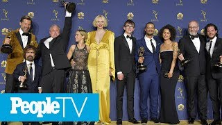 All The Best Moments From The 2018 Emmys: From Proposals To Strip Teases | PeopleTV