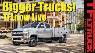 2019 Chevy Silverado 6500, Smokin' Titan, and new Ford van: TFLnow (Almost) Live Show #11