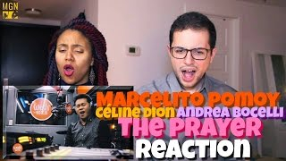 Marcelito Pomoy - The Prayer (Celine Dion/Andrea Bocelli) Reaction
