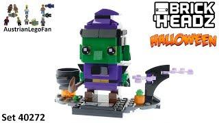 lego halloween witch lego brickheadz 40272 speed build