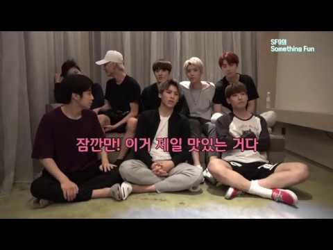 [SF9] 음식 걸고 초성 + 신조어 게임하기 (feat.찬희 엄근진)