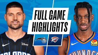 MAGIC at THUNDER | FULL GAME HIGHLIGHTS | December 29, 2020