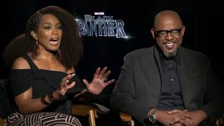 BLACK PANTHER Angela Bassett & Forest Whitaker Interview