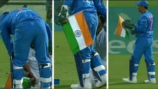 Watch: MS Dhoni's act at Hamilton will make every Indian proud