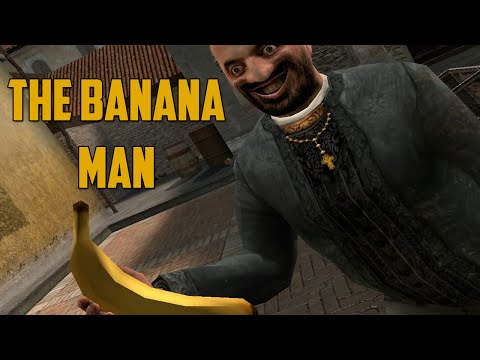 THE BANANA MAN! (Garry's Mod: Murder) - GoldGloveTV  - nx_-kmgvZVk -