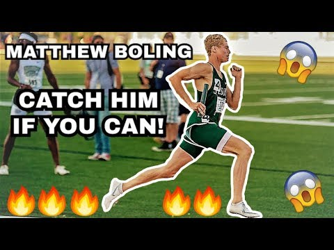 MATTHEW BOLING  || CATCH HIM IF YOU CAN...